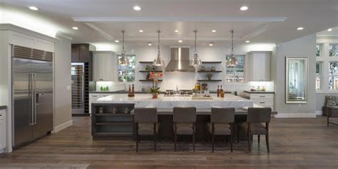 large kitchen island with seating 50 gorgeous kitchen designs with islands designing idea