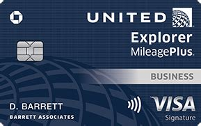 United Mileage Plus Business Card