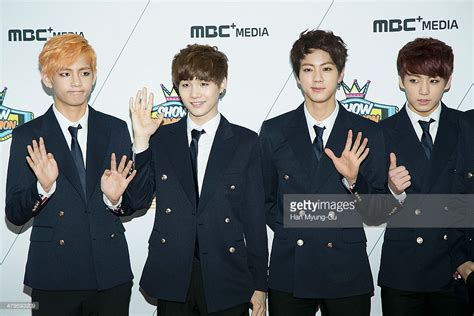 bts korean boy band mbc music quot show chion quot getty images