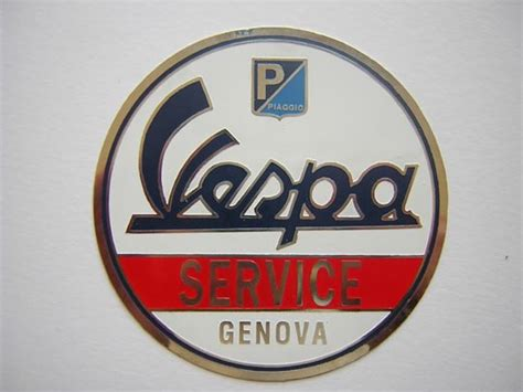 Badge Vespa Service Badges