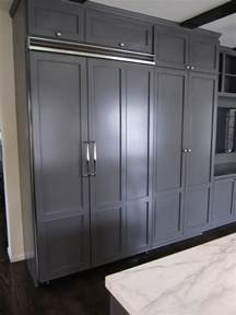 Refrigerator Cabinet by Built In Refrigerator Design Ideas