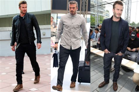 how to achieve david beckham s style the idle