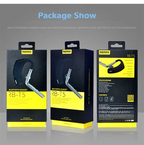 Emax Bluetooth 41 Wireless Headset Earphone Rb T5 Black buy remax brand t5 self timer wireless bluetooth 4 1 earphone headset with mic bazaargadgets