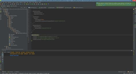 android studio import library android get error when import library in android studio