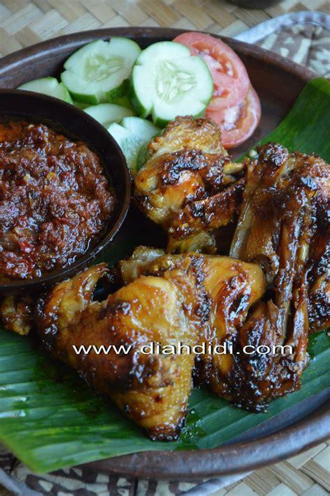membuat kaldu ayam diah didi diah didi s kitchen ayam bakar bumbu bacem khas yogya