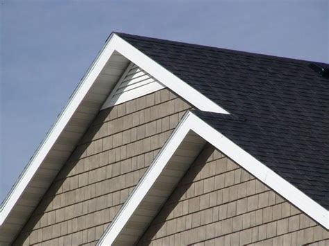 gable end attic exhaust custom aluminum gable attic vent triangle any pitch