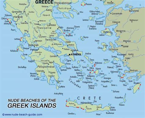 greek islands map holidaymapqcom