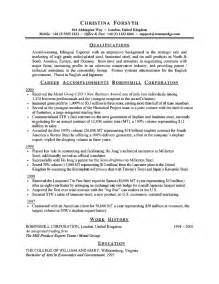 resume format exles for steel fabrication professional resume sle