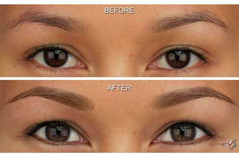 tattoo eyeliner before and after tattoo eyeliner alternative by microart semi permanent makeup