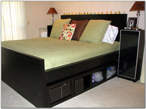 ikea hacks bed frame ikea malm bed hack download page home design ideas
