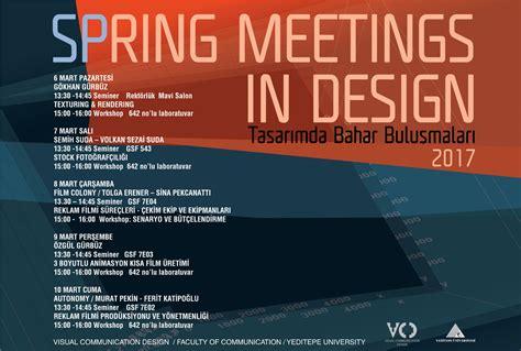 visual communication design yeditepe spring meetings in desingn 17 yeditepe 220 niversitesi