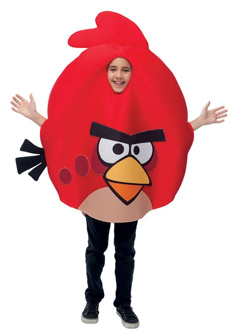 fancy dress costume adult gaming cartoon angry birds red med 38 40 angry birds red bird kids costume costume craze