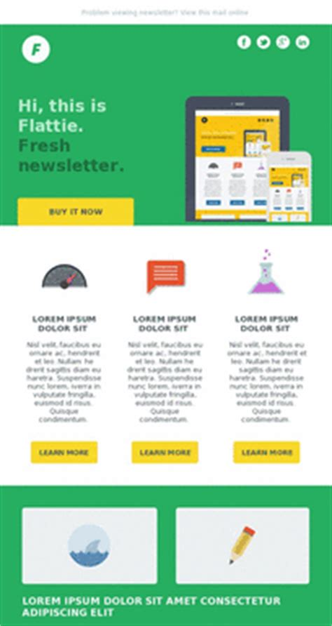 Mobile Email Templates Exles Pinpointe Mobile Email Template