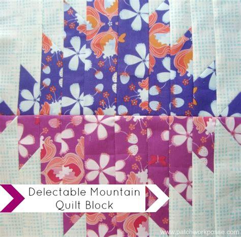 Patchwork Posse - around the block robin quilt along block 2