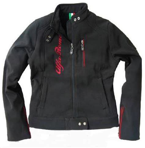 Alfa Romeo Jacket by Fiat Lancia Alfa Abarth Shop Alfa Romeo Softshell