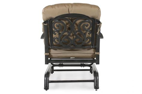 World Source St Louis Club Motion Chair With Cushion World Source Patio Furniture