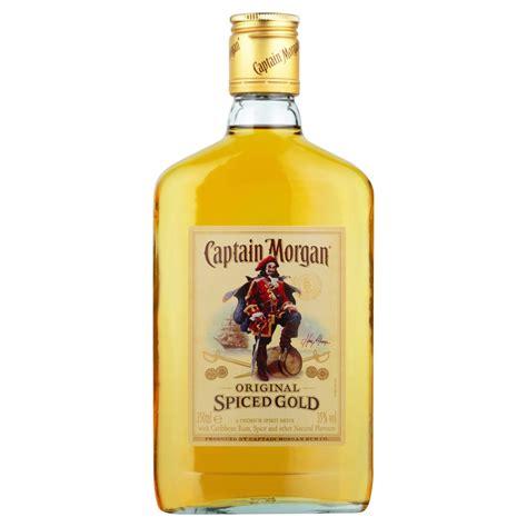 captain gold rum captain spiced gold rum 35cl drinksupermarket