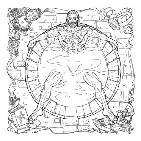 the witcher coloring book finally the witcher gets its own coloring book complete