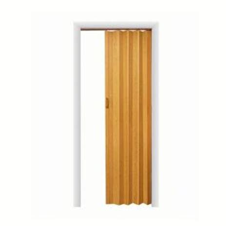 accordion doors interior home depot spectrum express one 48 in x 96 in vinyl oak accordion
