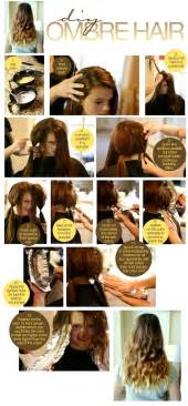 Galerry hair coloring tutorial at home
