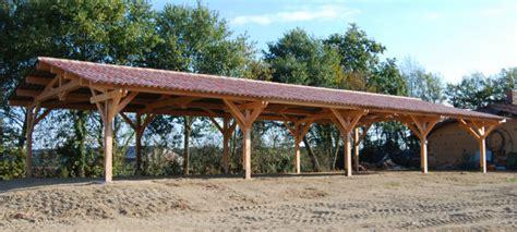 hangar bois agricole construction hangar bois agricole