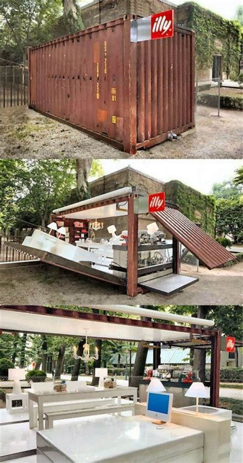 backyard cafe mobile al shipping container coffee shop indoor outdoor