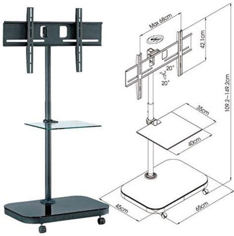 Braket Tv Standing Breket Standing Floor Tv Led 32 43 Braket Tv fs94 series led lcd tv trolley floor stand w mounting bracket glass shelf ebay