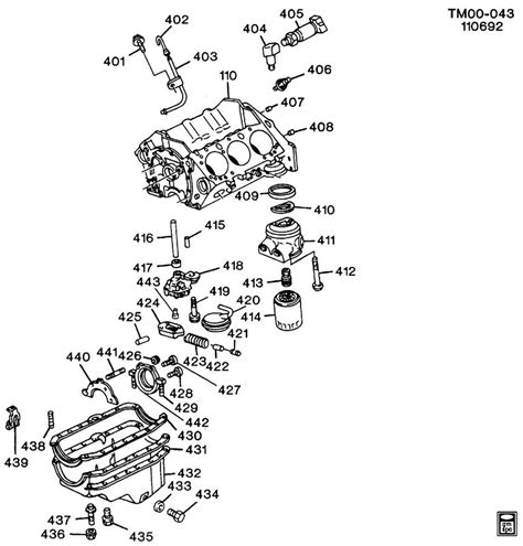 4 3 engine diagram gm 4 3l pan diagram gm free engine image for user
