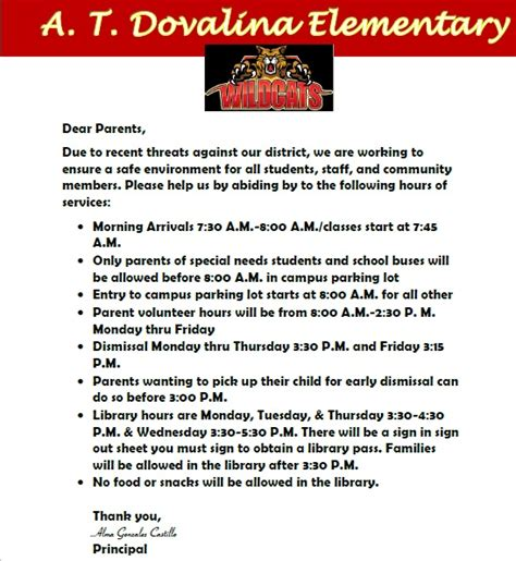 Parent Letter For Istation Home T Dovalina Elementary School