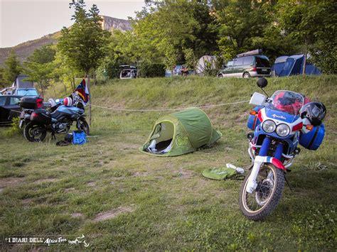 tende per moto tenda da ceggio quale scegliere per i viaggi in moto
