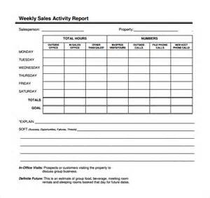 sales call report template excel sle sales call report sle 8 free documents in pdf