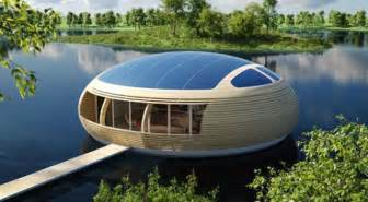 house technology 187 concept of eco friendly floating house with solar panels