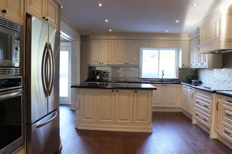 almond kitchen cabinets toronto thornhill custom classic kitchen design