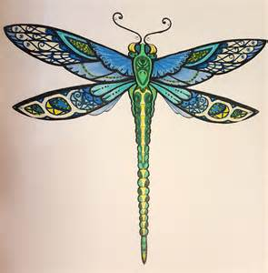 dragonfly colors beautiful