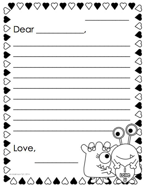 february printables kindergarten literacy math