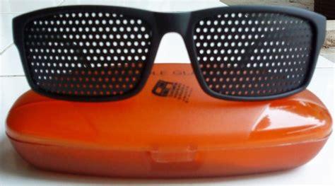 Pinhole Kacamata Terapi kacamata terapi mengurangi mata lelah dan gangguan mata