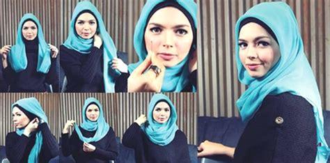 tutorial hijab pesta warna hitam new tutorial hijab segi empat warna hitam hijab