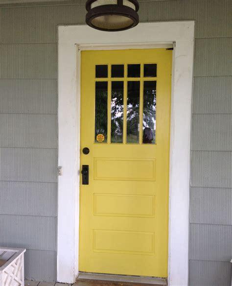 yellow front door  valspar fall meadow  images