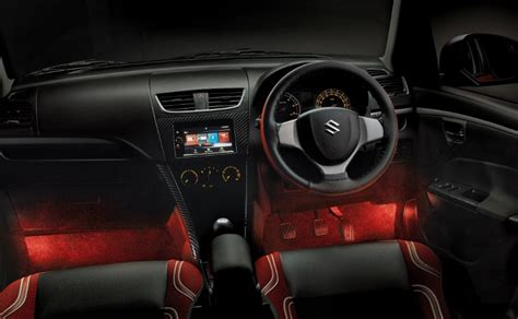 how cars run 2005 suzuki swift interior lighting maruti suzuki swift deca limited edition launched