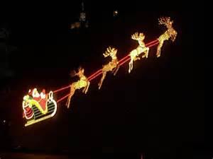 christmas light reindeer christmas decorating