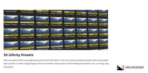 final cut pro glitch effect developers at pixel film studios release pro3rd glitch for