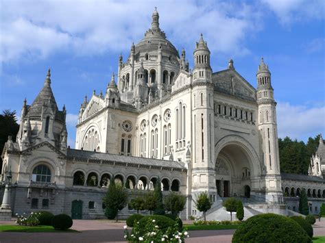 st therese basilica lisieux france image gallery lisieux cathedral