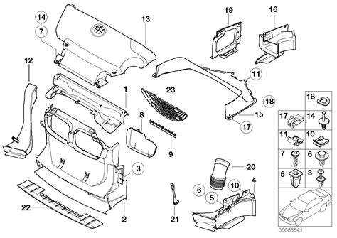 bmw part diagram bmw e46 3 series front right air duct s54 51712695702 ebay