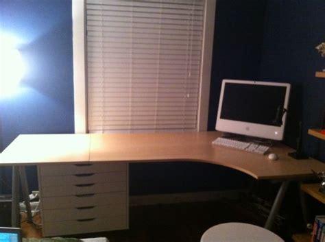 Ikea Galant Right Corner Desk Ikea Galant Right Corner Desk For Sale