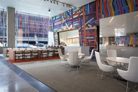 home design stores cincinnati contemporary arts center lobby by frch design worldwide