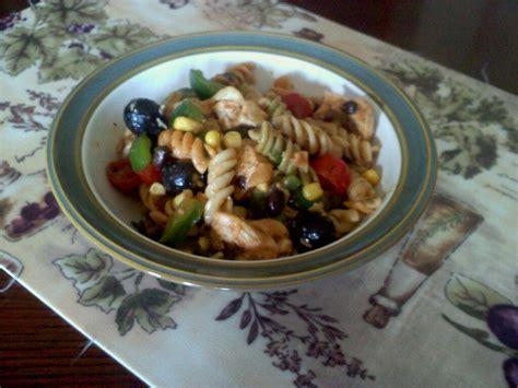 tex mex pasta salad tex mex chicken pasta salad bigoven