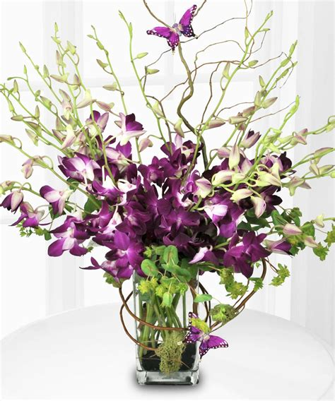 orchid delivery purple orchid majesty mother s day bouquet floral