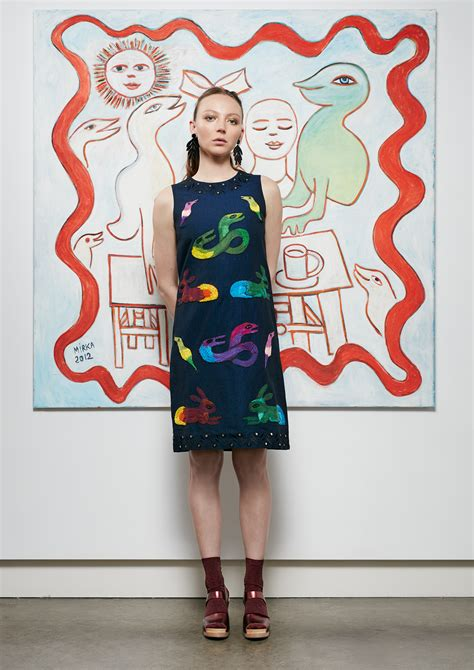 I Gorman by Gorman S New Collaboration With Mirka Mora Broadsheet