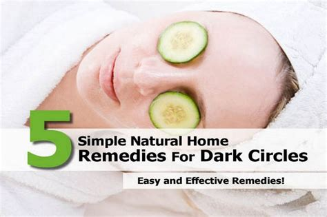 picture suggestion for circles home remedy