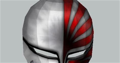 Ichigo Hollow Mask Papercraft - ichigo s hollow mask papercraft papercraft paradise